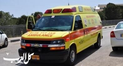 إصابة شاب (17 عامًا) في حادث طرق بالعاد