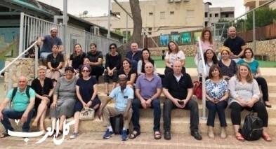 لقاء يهودي عربي بين ثانوية العلوم بالرامة