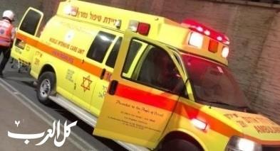 بئر المكسور: اصابة طفل بجراح خطيرة اثر سقوطه
