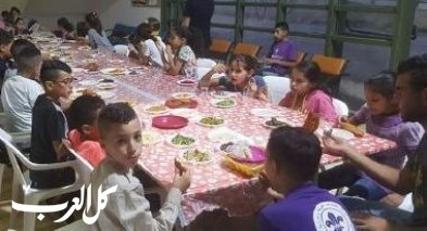 تنظيم افطار رمضان لسريَّة كشَّاف عارة عرعرة