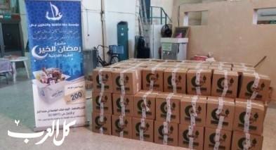 مؤسسة عكا تتم مشروع رمضان الخير