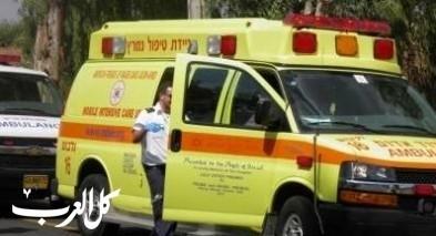 اللقية: سقوط شاب عن ارتفاع وإصابته متوسطة
