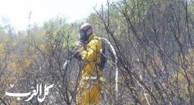 الحرائق ظاهرة مقلقة في منطقة الجليل