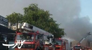 اندلاع حريق في منزل في بلدة ديرحنا