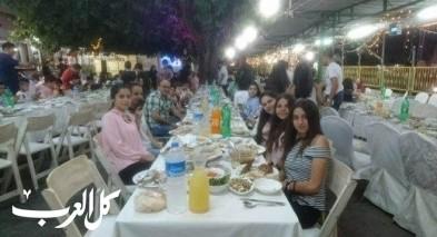ابن خلدون في الناصرة تنظم افطارا رمضانيا