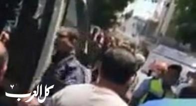 بالفيديو: اعتقال شباب من رام الله غير صائمين