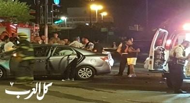 اصابة 8 اشخاص بحادث طرق قرب مستشفى العفولة
