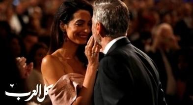 تكريم الممثل العالمي جورج كلوني