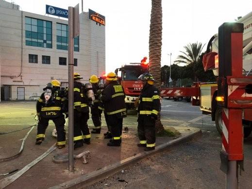 اللد: اندلاع النيران في كنيس نتيجة تماس كهربائي