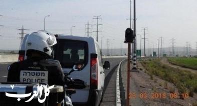 الشرطة لن ترسل مخالفات من كاميرات السرعة