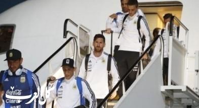 المنتخب الأرجنتيني يصل الى روسيا