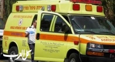 يركا: اصابة رجل (50 عامًا) جراء انزلاق دراجته