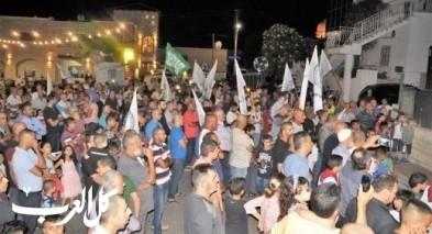 كفرقرع: مسيرة حاشدة لتكبيرات العيد وسط أجواء مميزة
