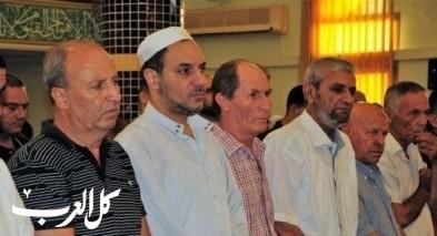 المصلون يزينون المساجد بصلاة العيد في كفرقرع