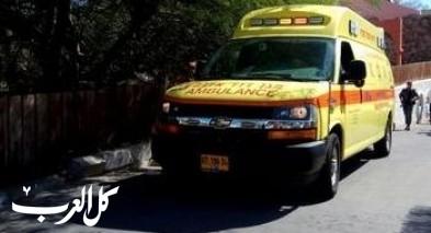 سقوط تمثال على طفل من قلنسوة واصابته خطيرة