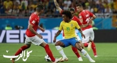 منتخب البرازيل يفشل في تخطي سويسرا بتعادل ضمن افتتاح مشوراه بالمونديال 1:1
