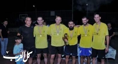 كفرقرع: فريق الارجنتين يفوز بدوري رمضان