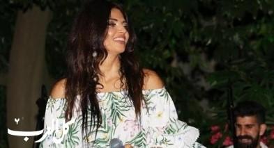 بالصور: الفنانة أسمرا تتألق في حفلة ببيروت