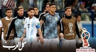 الأرجنتين في مأزق ويوشك على توديع المونديال من الدور الأول