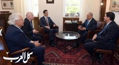 نتنياهو يلتقي بمستشار ترامب وممثله الخاص في القدس