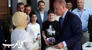 اردوغان يكتسح نتائج الانتخابات الرئاسية التركية