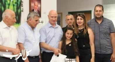 هبوعليم يحتفل باختتام مسابقة الكاتب الصغير 2