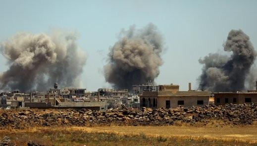 صاروخان إسرائيليان استهدفا مخازن أسلحة لحزب الله