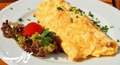 أومليت البيض السريع.. شهي للفطور