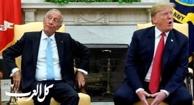 ترامب يحرج رئيس البرتغال بسبب كريستيانو رونالدو