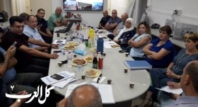 جولة شموئيل ابواب في جهاز التعليم العربي
