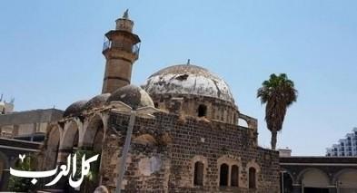 الهزة الأرضية تصدّع جدران المسجد العمري في طبريا