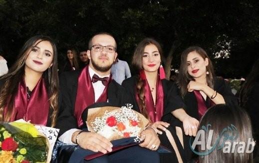 ثانوية جمال طربيه في سخنين تحتفل بالتخريج