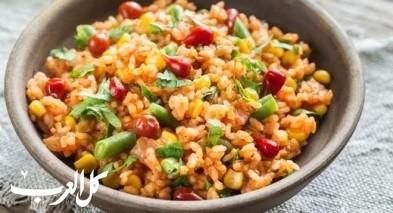 طريقة تحضير الأرز المكسيكي اللذيذ