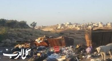 حملة لإزالة النفايات المتراكمة في صور باهر