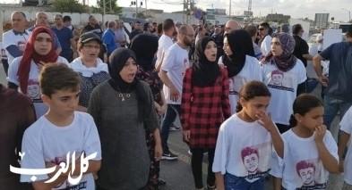 تظاهرة أمام مركز شرطة كدما تنديدًا بخطف كريم جمهور