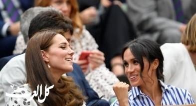 الدوقتان كيت وميغان في نهائي مسابقة التنس