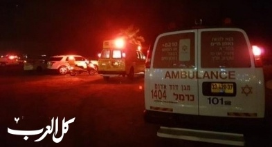 غرق شابين في احد شواطئ حيفا وحالتهما خطيرة ومتوسطة