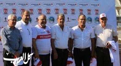 احتفال نهائي المونديال في الدوحة سخنين