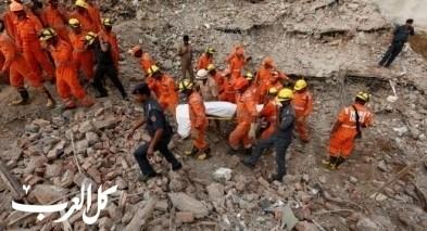 الهند: انهيار مبنى من 6 طوابق