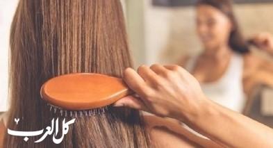 عالجي تقصف الشعر مع الخلطات المنزلية