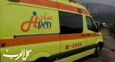 إصابة 6 أشخاص في حادث قرب دير الأسد