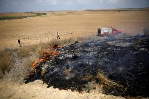 اربعة شهداء في قصف مدفعي اسرائيلي بغزة