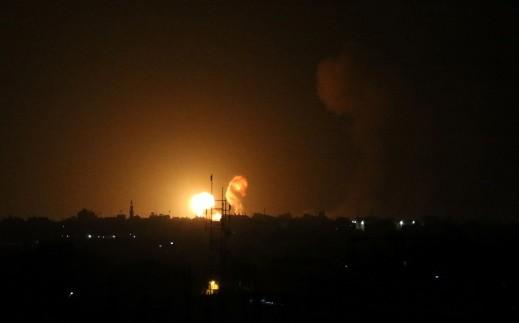 الجيش الاسرائيلي: قصفنا خلية قامت باطلاق بالونات