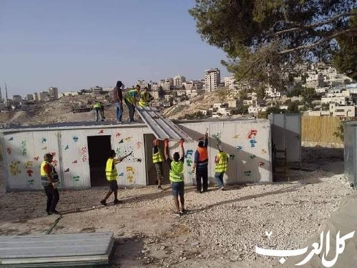 هدم وتفكيك روضة أطفال ومركز نسوي شرقي القدس