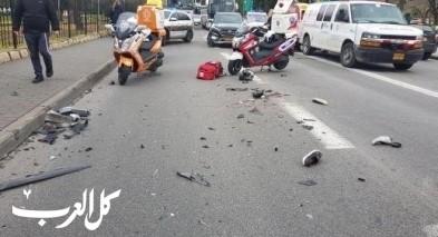 اصابة شاب (17 عامًا) من طوبا الزنغرية بجراح في رأسه