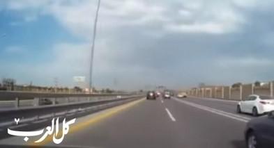 بالفيديو: توثيق حادث طرق مروع