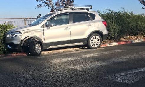 اصابات بحادث طرق على مدخل بلدة عين ماهل
