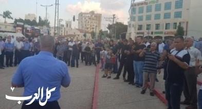 تظاهرة للجنة المتابعة ضد قانون القومية في الرملة