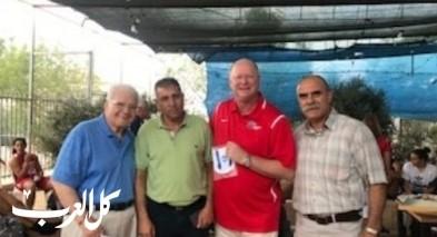 لاعبات امريكيات في استضافة بلدية الناصرة