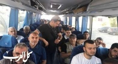 بدء توجه حافلات من وادي عارة لتل أبيب
